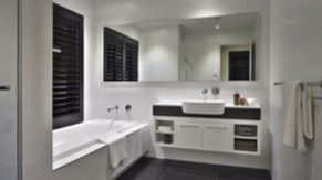Tub and sink details by bathroom remodeling contractors, Complete Home Care.
