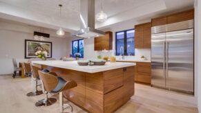 A fantastic eat-in kitchen remodel project by Complete Home Care.