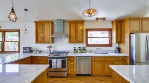 Sunny kitchen remodeling in Boca Raton FL by Complete Home Care.